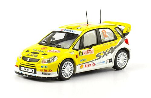 collezione rally monte carlo Suzuki SX4 WRC 2008 P-G. Andersson 1:43