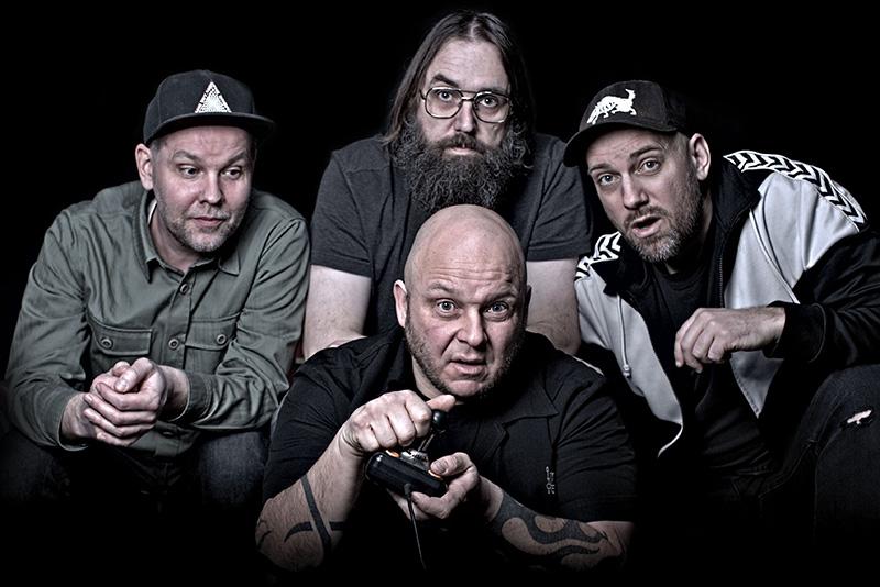 "Malossi and the heavy rock bonfire tales of ""Drømmer På Boks"""