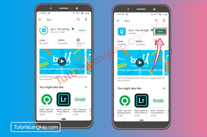 tutorialengkap 2 Cara Membuat Akun By.U untuk memesan SIM Card Secara Online