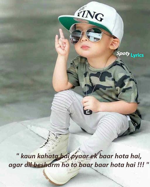 2 line attitude status attitude status in hindi 2 line
