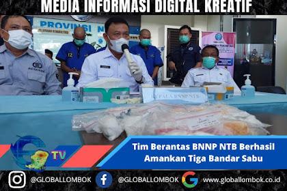 Tim Berantas BNNP NTB Berhasil Amankan Tiga Bandar Sabu