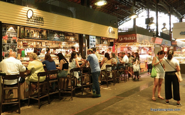 Restaurante Quim de la Boqueria, Mercado da Boqueria, Barcelona