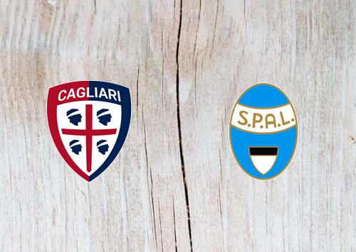 Cagliari vs SPAL 2013 - Highlights 7 April 2019