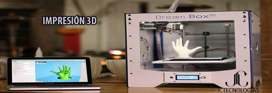Tecnología en Impresión 3D