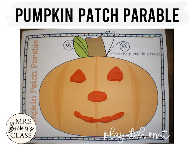 The Pumpkin Patch Parable book study activities literacy unit with Common Core aligned companion activities for Kindergarten and First Grade