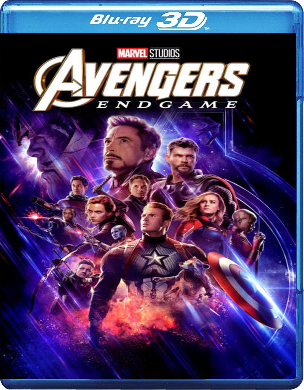 Avengers: Endgame [2019] [BD50] [Español] [3D]