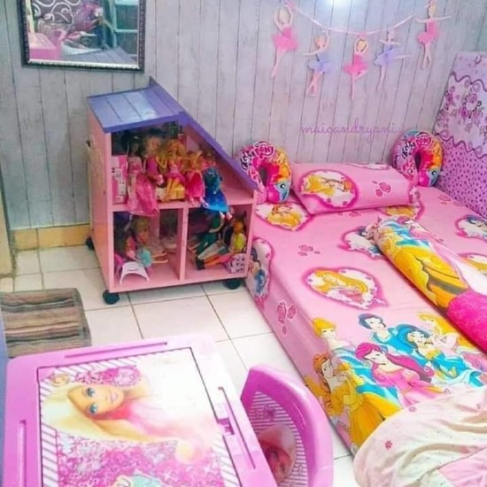 dekorasi kamar tidur anak minimalis