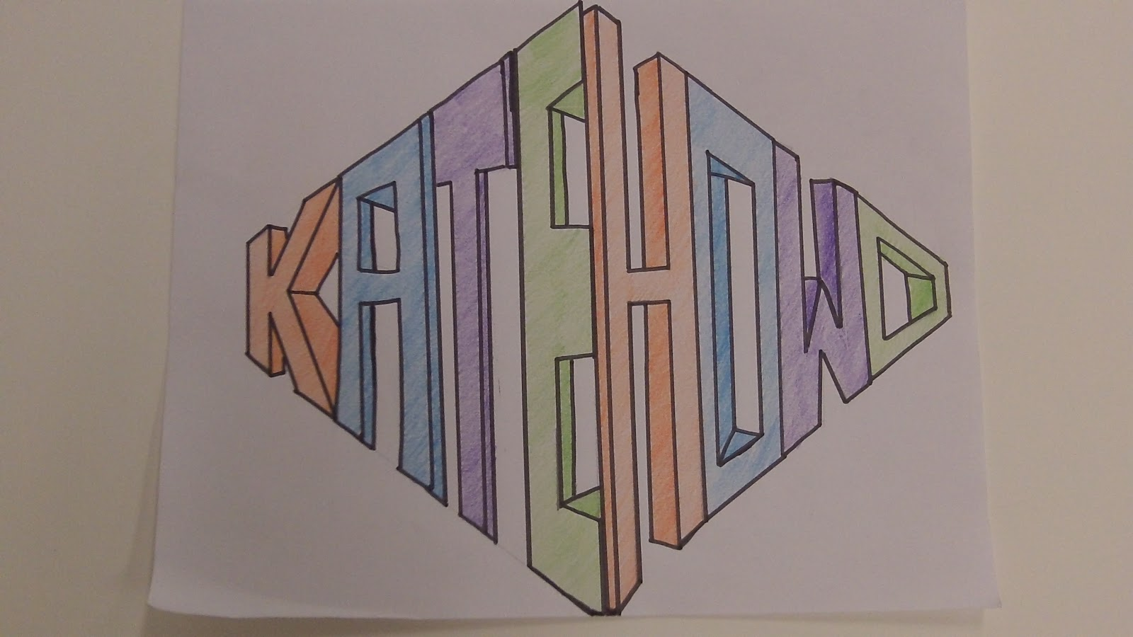 Kaitlyn S Art 1 Blog 2 Point Perspective