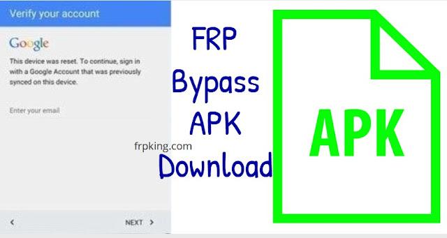 Google FRP Bypass APK Download  2020