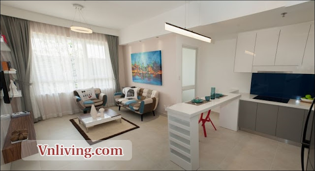 Masteri Thao Dien Apartment for rent 1 bedrooms nice furniture