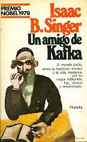 portada de Un amigo de Kafka de Isaac Bashevis Singer