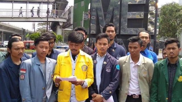 Presiden Mahasiswa Universitas Trisakti, Dinno Ardiansyah: Tujuan Demo Bukan Melengserkan atau Menurunkan Jokowi
