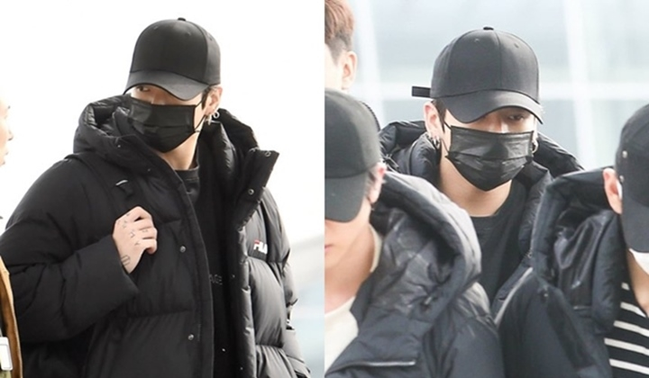 BTS Jungkook First Appearance After an Accident, His Hair Color Becomes The Spotlight