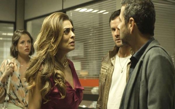 Amadeu surpreende Maria da Paz após prisão de Rael (Imagem: Reprodução/TV Globo)