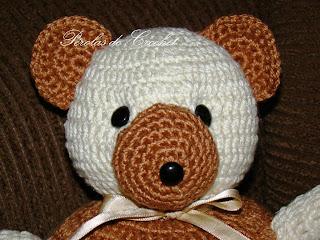 O queridinho em versão menor 30cm 🐻✈ Urso aviador #amigurumilove ... | 240x320
