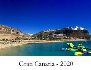 Gran Canaria kalender for 2020