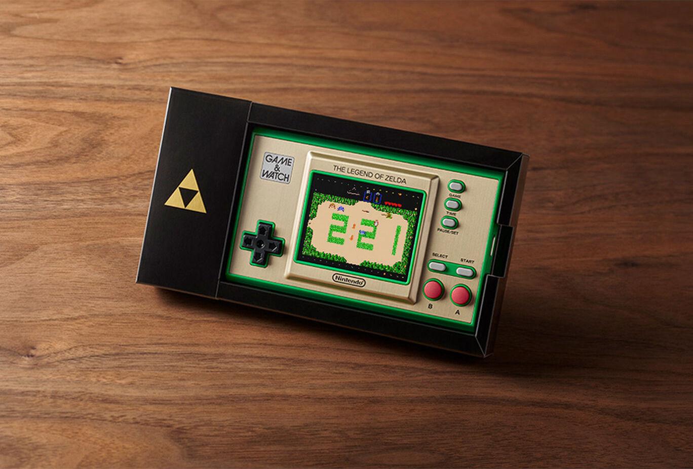 Zelda Game & Watch Features Multi-Language Option