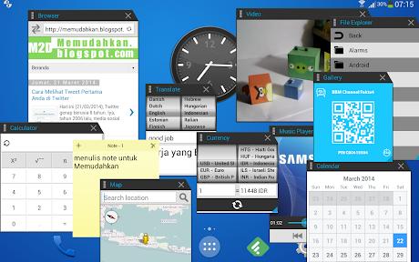 Multi Windows untuk Semua Perangkat Android dengan Multitasking