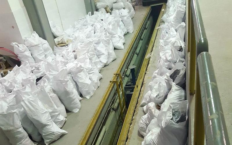 Μεγάλη ποσότητα προϊόντων «μαϊμού» εντοπίστηκε στο Τελωνείο Κήπων Έβρου