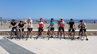 Costa del Sol Cycling with your friends