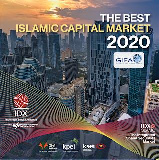 Penghargaan Internasional sebagai The Best Islamic Capital Market kembali Diraih BEI Pada GIFA 2020