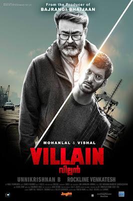 Villain (2017) Dual Audio [Hindi – Malayalam] 720p UNCUT HDRip ESub x264 1.1Gb