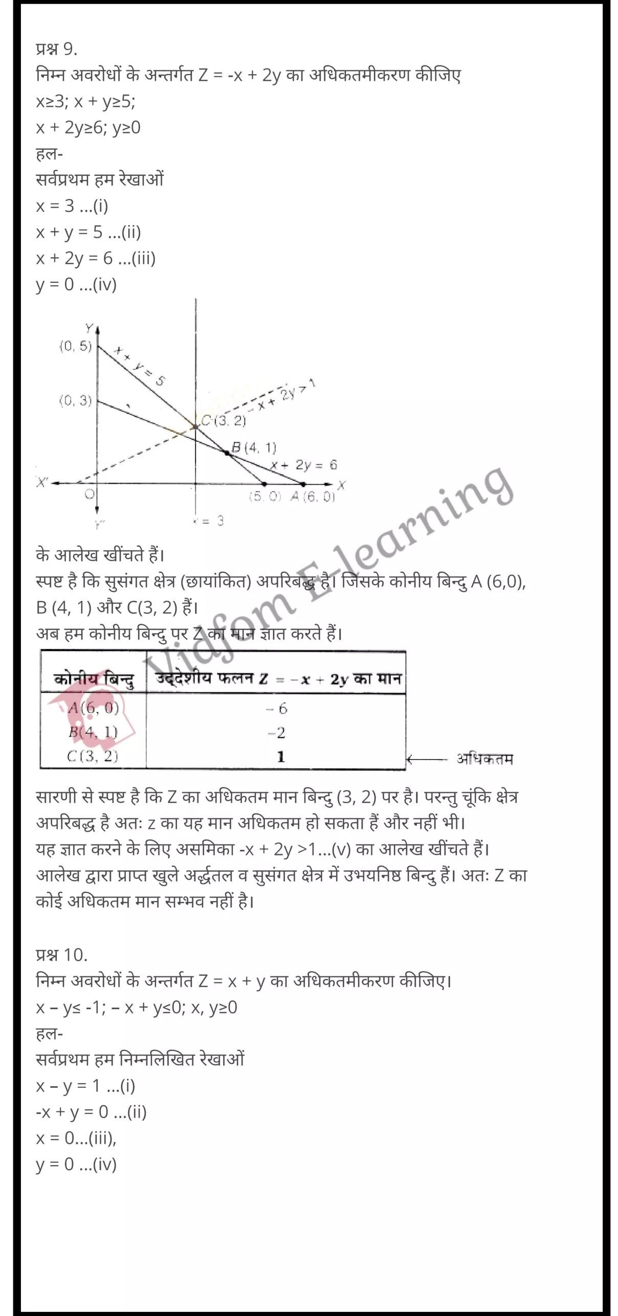 class 12 maths chapter 12 light hindi medium 7