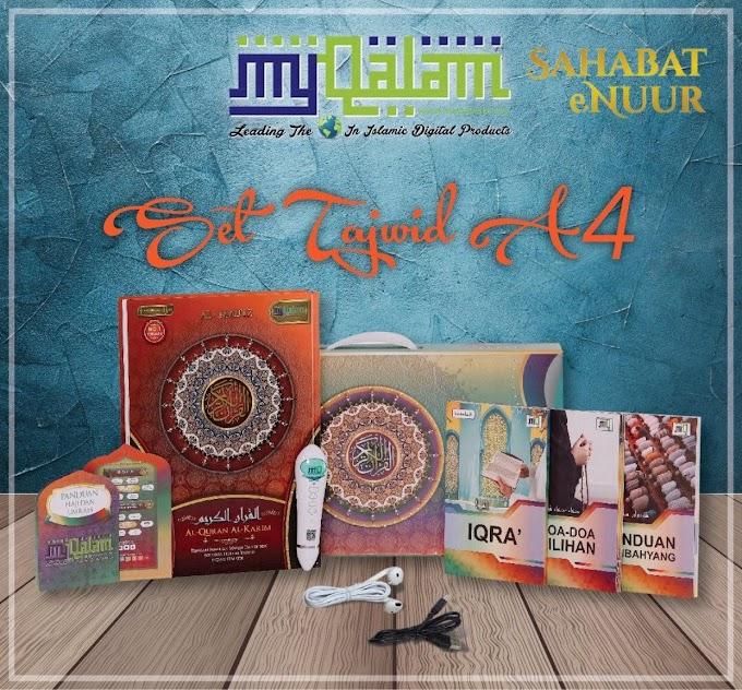 Al Quran Digital My Qalam A4 Tajwid