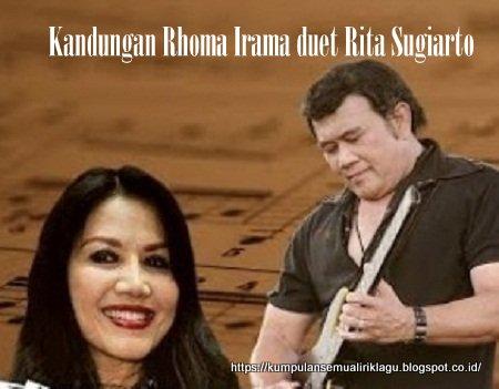 Kandungan Rhoma Irama duet Rita Sugiarto