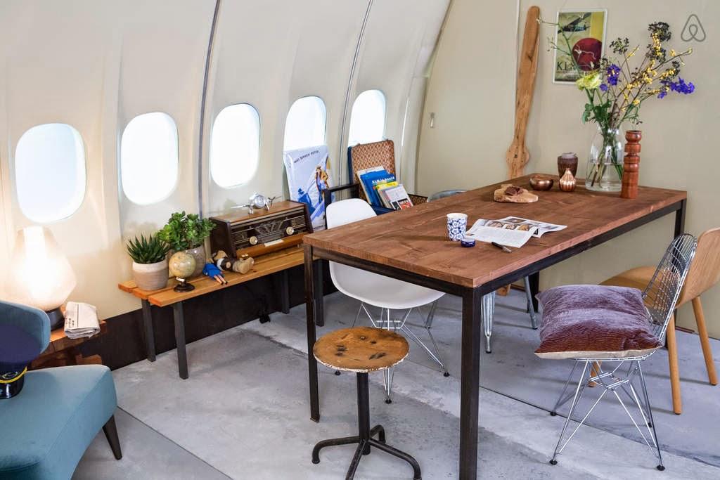 Aviones de lujo Hotel en un avion
