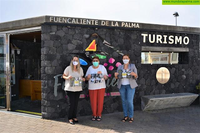 El Cabildo y el Ayuntamiento de Fuencaliente acercan la artesanía local a visitantes y turistas