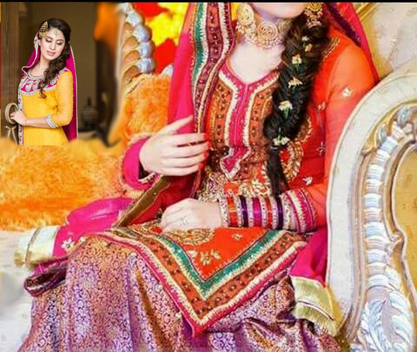 Mehndi Party Dresses 2016 : Haze fashion best pakistani mehndi dresses for your