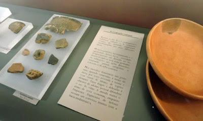 objetos e vestígios arqueológicos