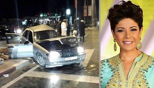 تهمة الصدم والفرار من موقع الحادث تطارد الفنانة وعارضة الأزياء ليلى الحديوي