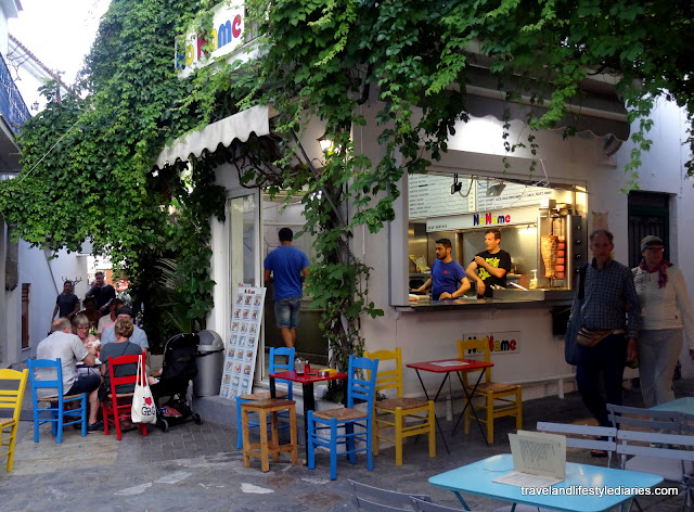 """Skiathos, Greece: """"Foodporn"""" and the Fast Food with """"No Name"""""""