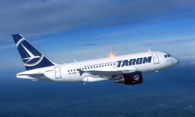 Avion Tarom, aterizare forțată la Roma