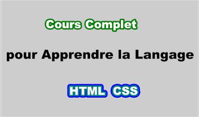 Cours Complet HTML5 et CSS3 PDF