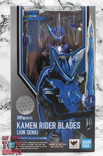 S.H. Figuarts Kamen Rider Blades Lion Senki Box 01
