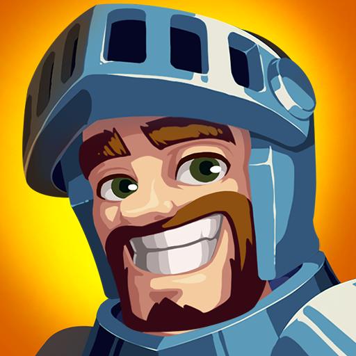 تحميل لعبه Knights and Glory - Tactical Battle Simulator مهكره وجاهزه