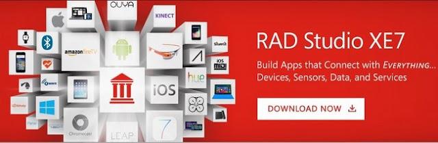 Embarcadero RAD Studio XE7 Architect Free Download
