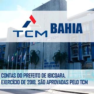 Contas aprovadas pelo TCM