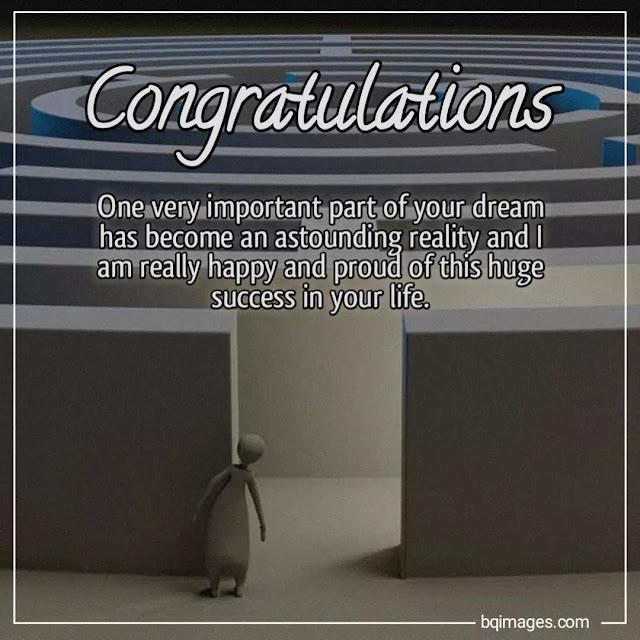congratulations quotes for success