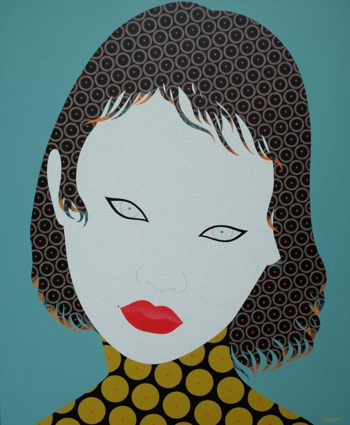 Таиландский художник. Chamnan Chongpaiboon