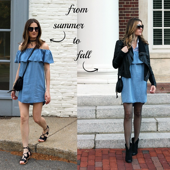 How To Wear Your Summer Dresses In The Fall Threads For Thomas