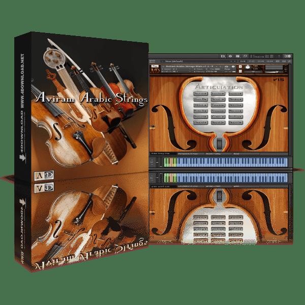 Aviram Arabic Strings v1.5 KONTAKT Library
