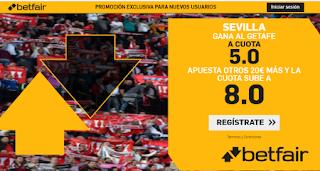betfair supercuota liga Sevilla gana Getafe 27-10-2019