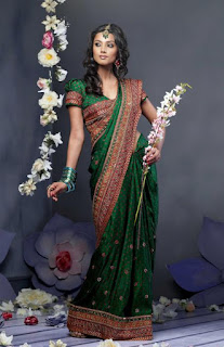 Как правильно надеть сари, индиская традиционная одежда, http://prazdnichnymir.ru/,