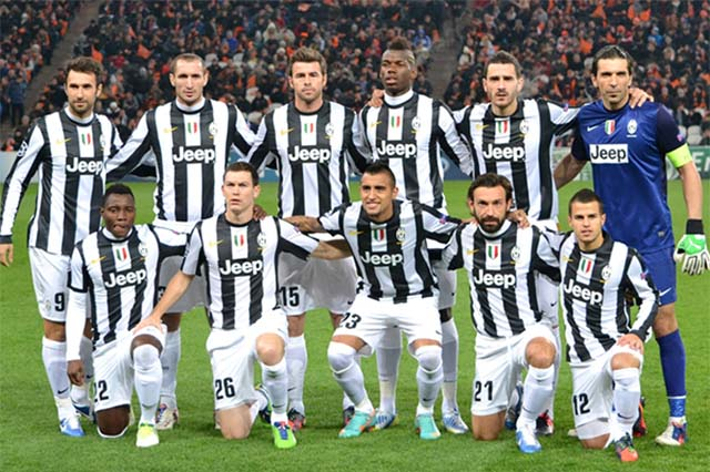 Cross the Netflix Stream: First Team: Juventus