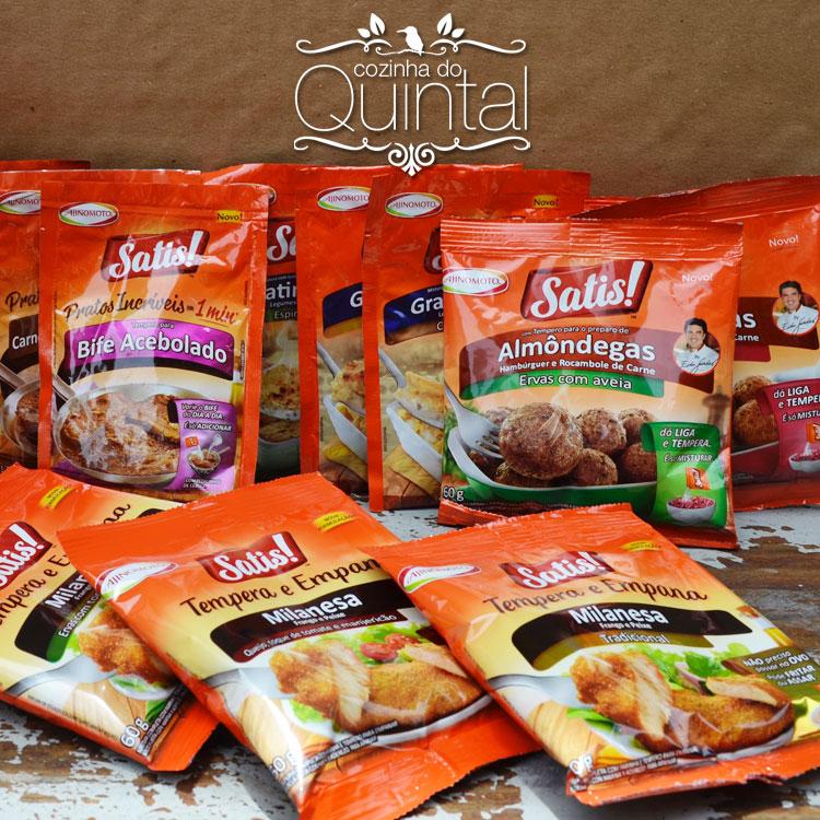 Nova Linha Satis na Cozinha do Quintal, #VádeSatis!