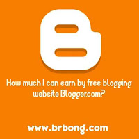 How much I can earn by free blogging website Blogger.com?